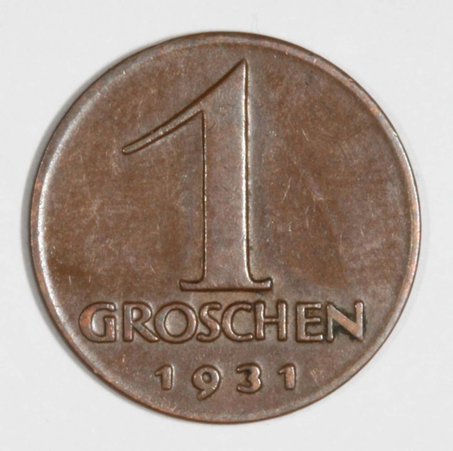 Groschen 1931