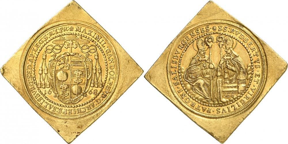 10 Dukatenklippe 1668, Numismatica Genevensis Auktion 8, 24.11.2114