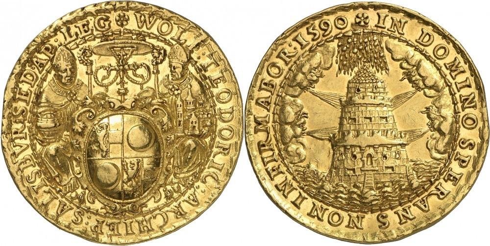 10 Dukaten 1590, Numismatica Genevensis Auktion 8, 24.11.2114