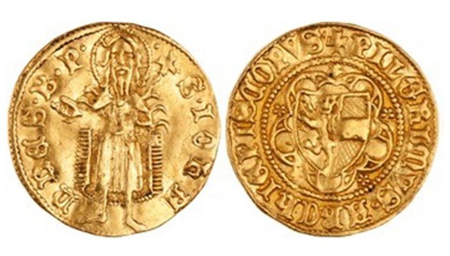 Goldgulden des Erzbischofs Pilgrim, um 1365