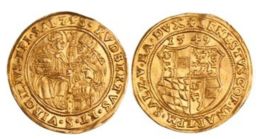 Doppeldukat 1549, Ernst von Bayern