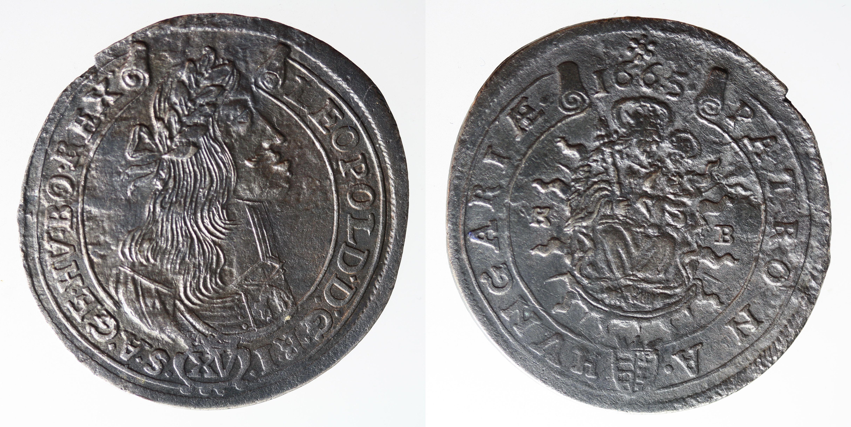 15 Kreuzer 1665 KB Kremnitz