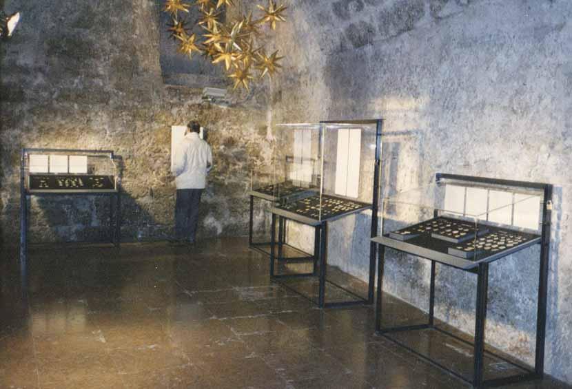 Salzburger Münzausstellung 1988 im Romanischen Keller der Hypo Bank