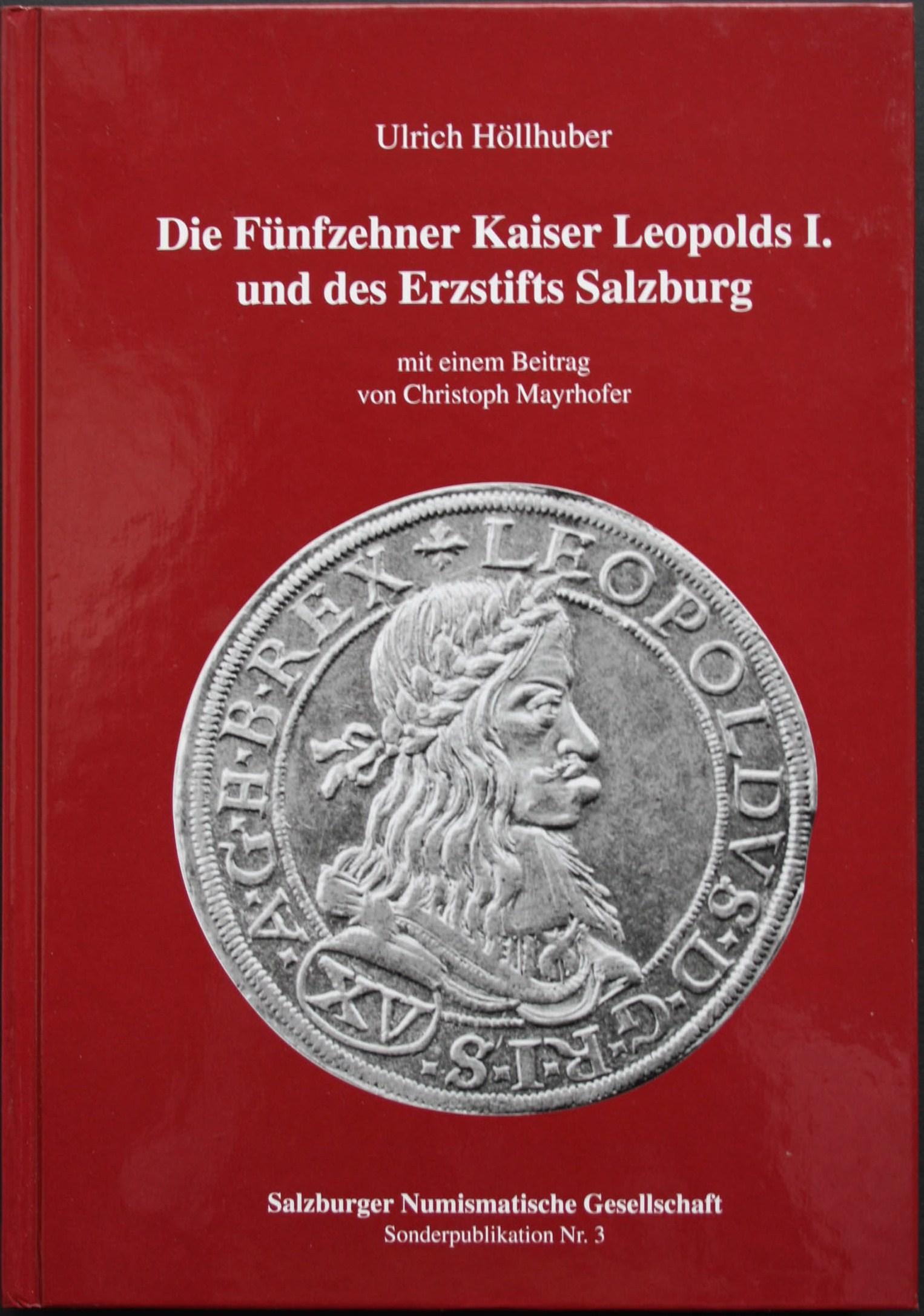 HÖLLHUBER , 15 KREUZER LEOPOLD 1.