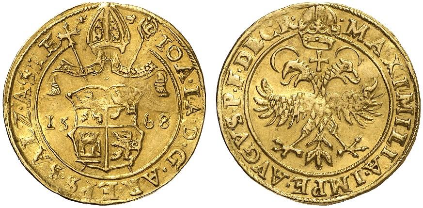 Doppeldukat 1568 Kuen Belasi