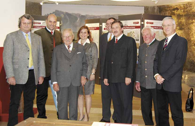 Eröffnung der Münzausstellung in der Bachschmiede Salzburg/Wals.