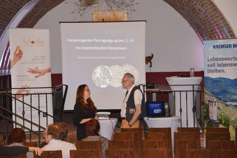 Vortrag Münzbörse Spitz Alexandra Hylla
