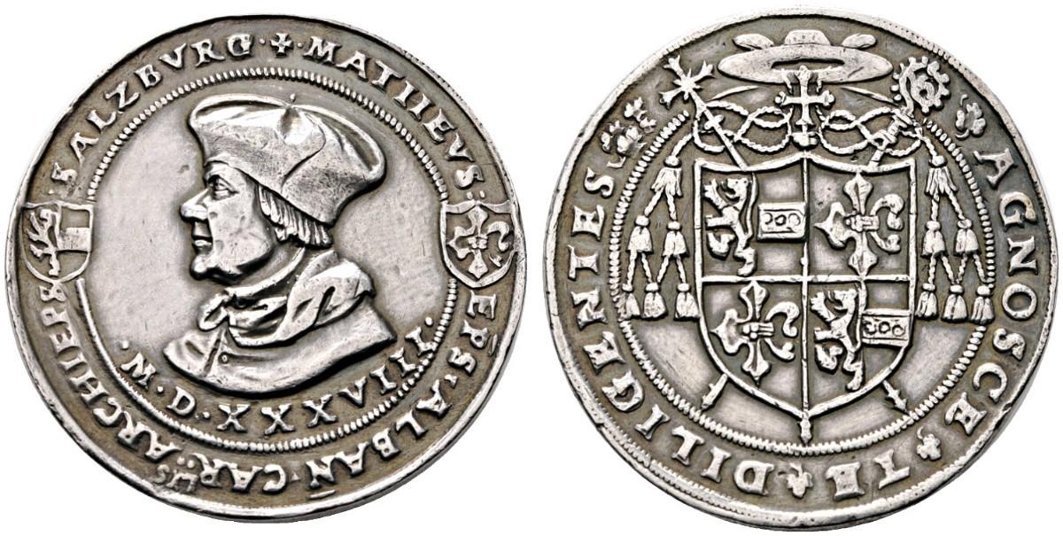 Bild: Rauch E-Auktion 20: Doppelguldiner 1538, Original ?