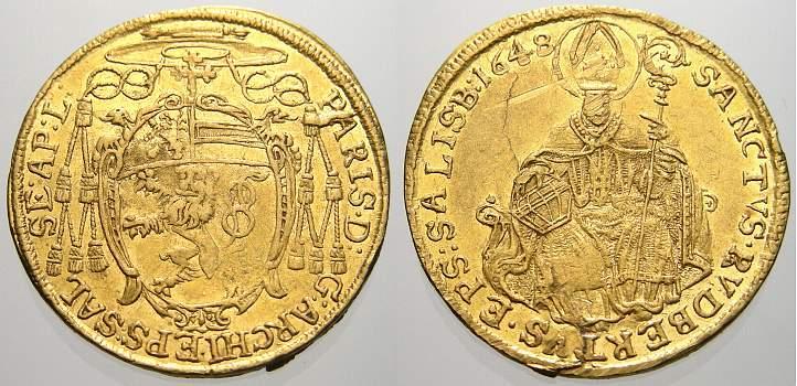 2 Dukat 1648, Paris Graf Lodron