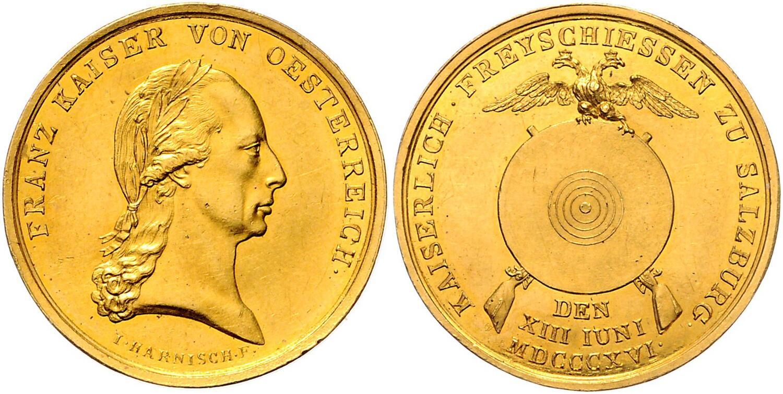 3 Dukaten Schützenpreis 1816