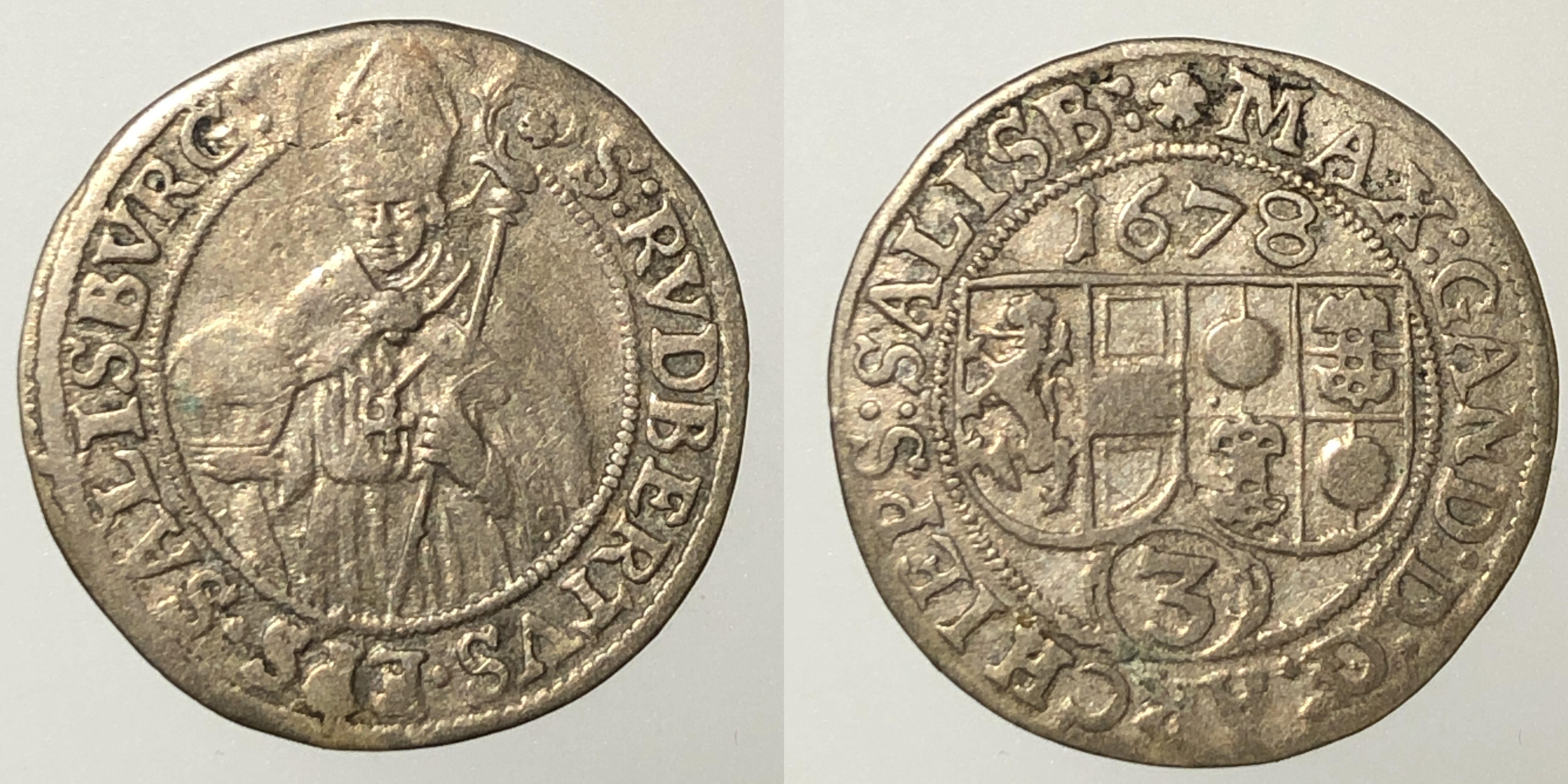 Groschen 1678