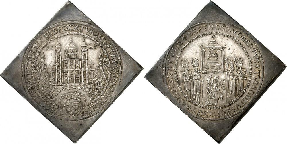 3 Talerklippe 1628, Numismatica Genevensis Auktion 8, 24.11.2114