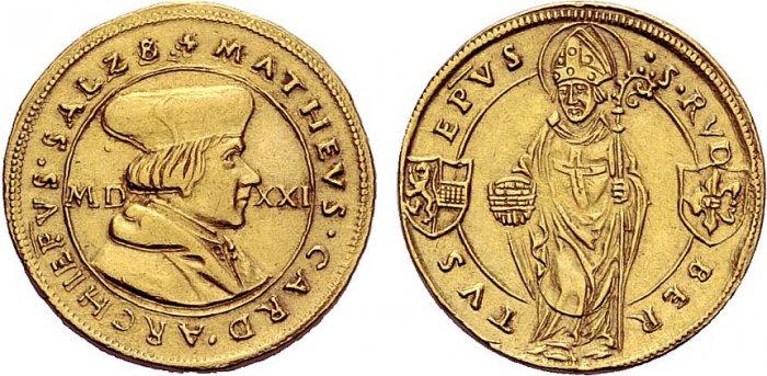 3 Dukat 1521, Stempel wie 1/4 Guldiner, Z.133