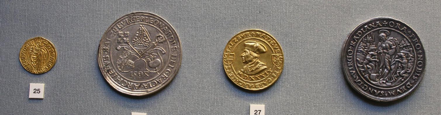 Rübentaler und weitere Salzburger Raritäten in der Staatlichen Münzsammlung München.