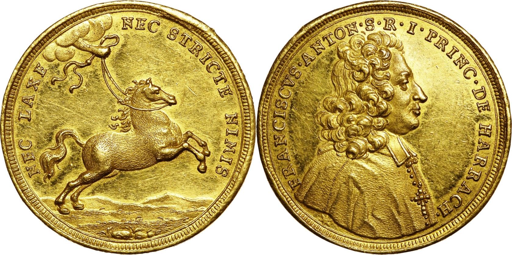 Harrach 5 Dukaten o.J. (1709)