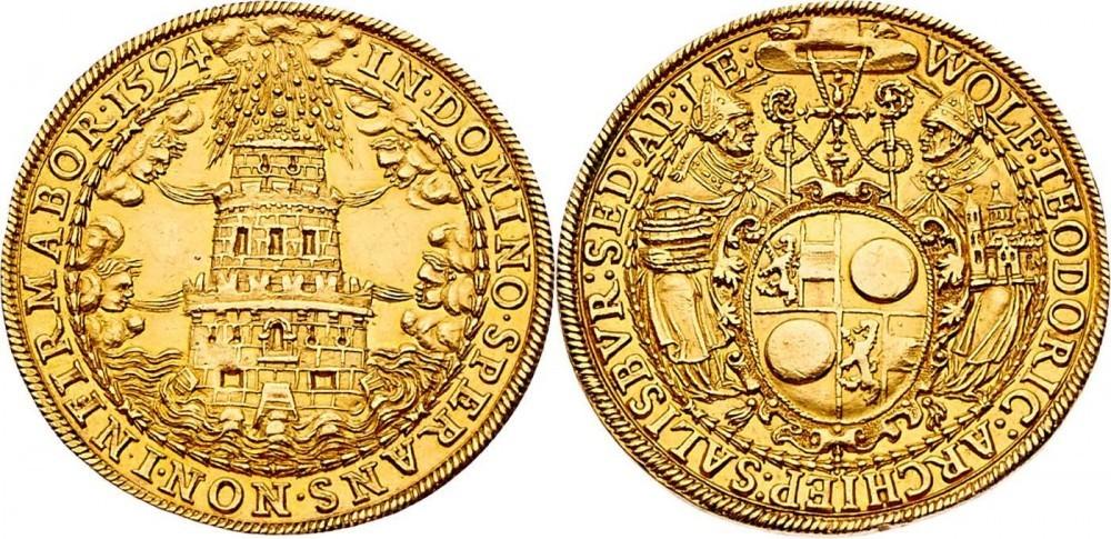 8 Dukaten 1594, Auktionshaus Frühwald, Salzburg