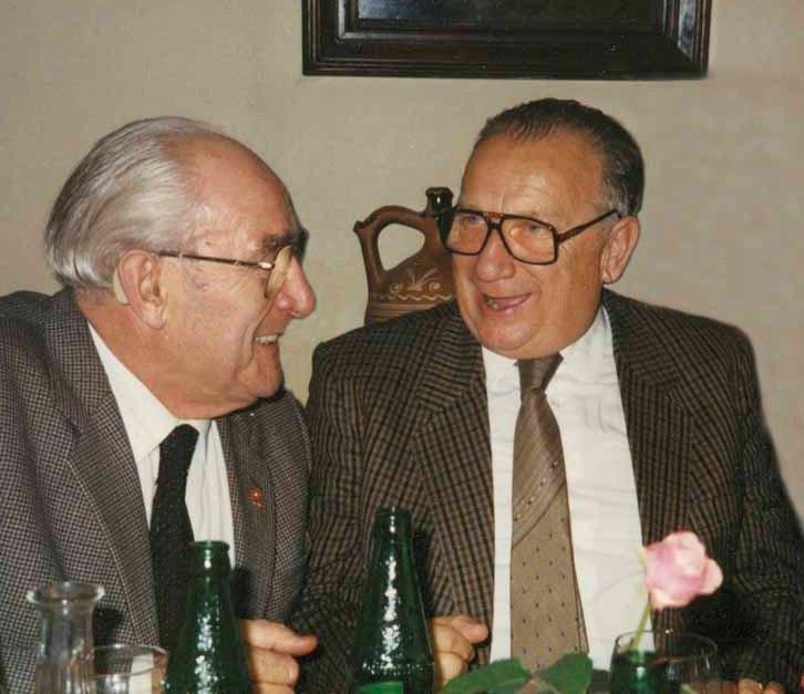 Josef Leopolder (mit Gustl Esthofer)