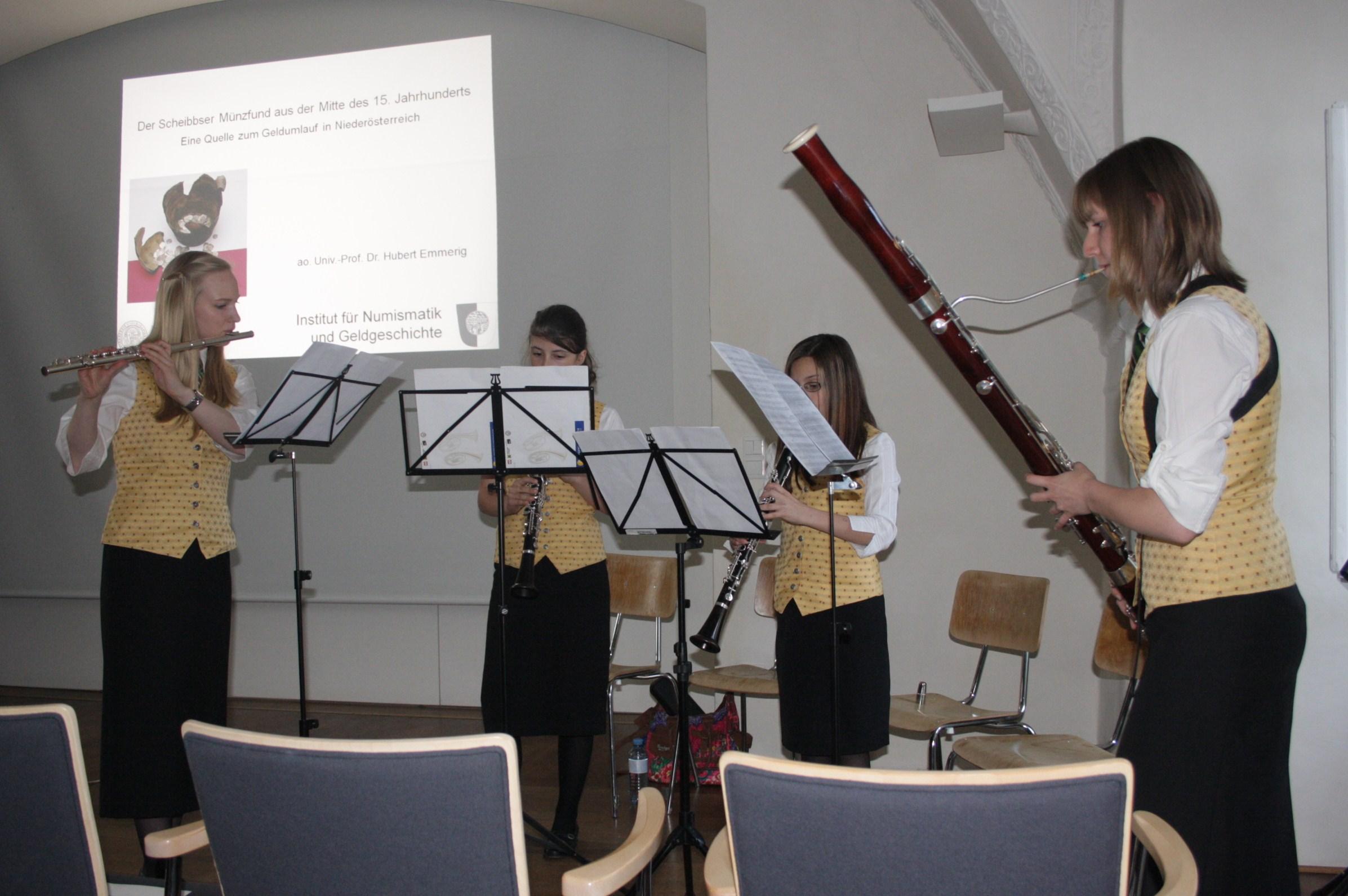 Musikalische Einlagen