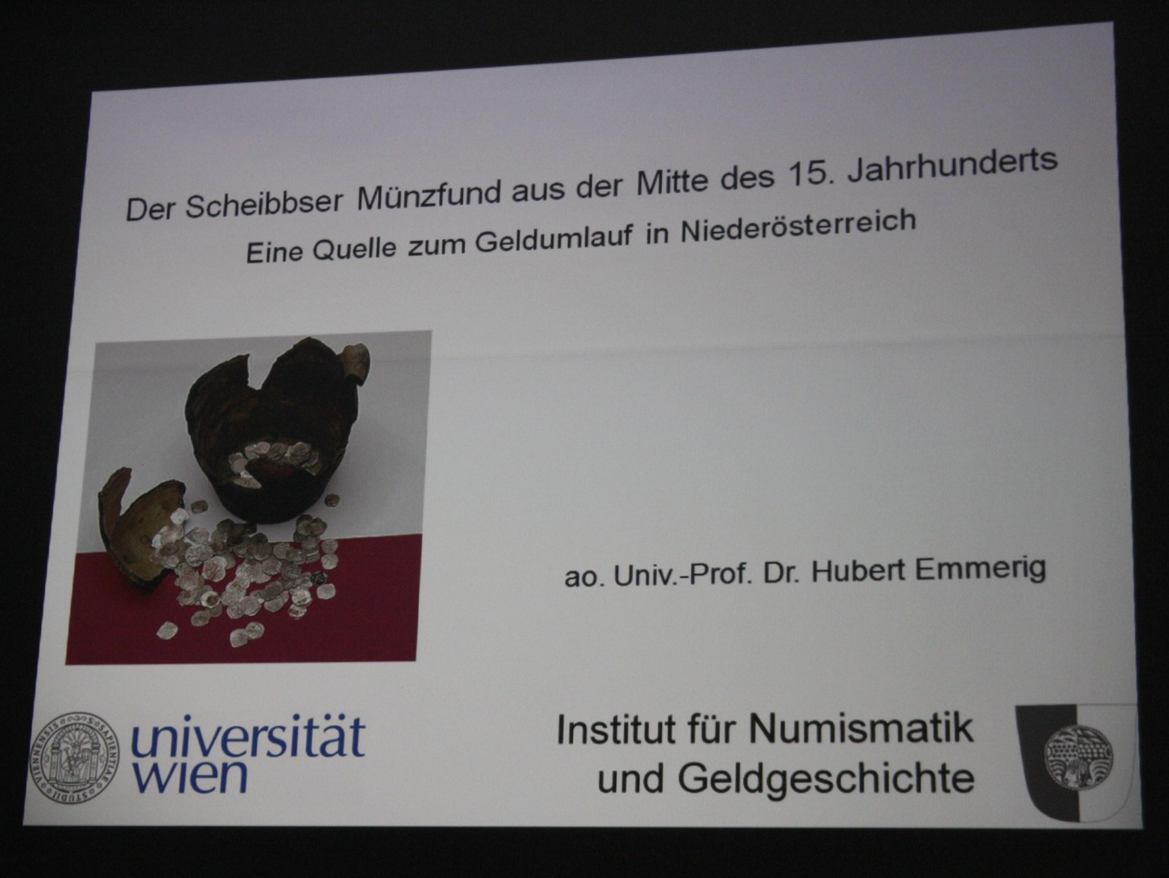 Vortrag Prof. Hubert Emmerig
