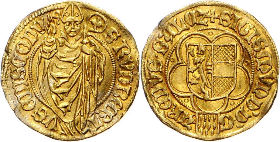 SALZBURG, ERZBISTUM, Sigismund I. von Volkersdorf, 1452-1461, Goldgulden o.J.