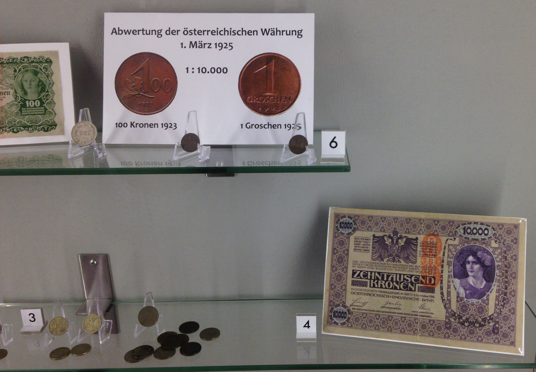Münzen WK1 Bachschmiede