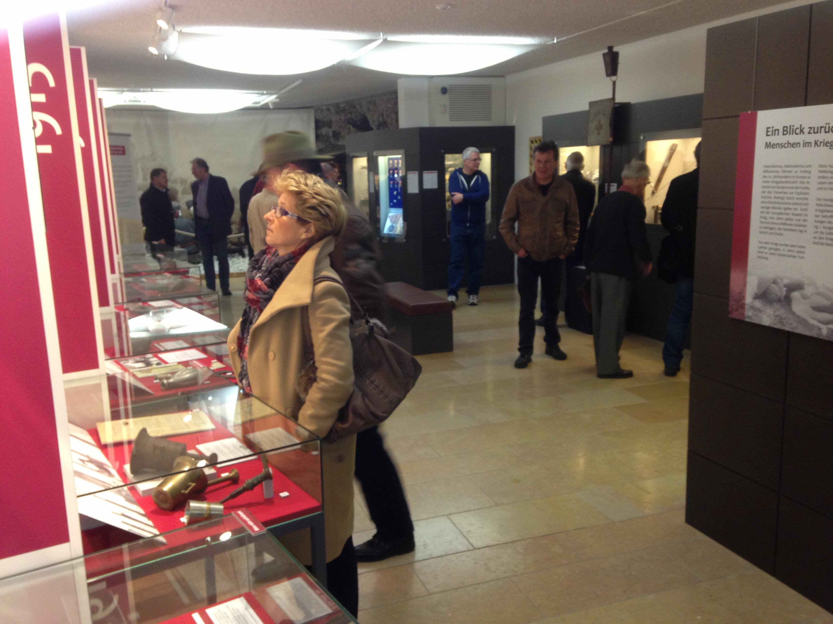 Besucher Bachschmiede WK1