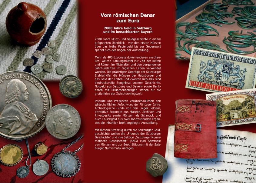 Vom Römischen Denar zum Euro