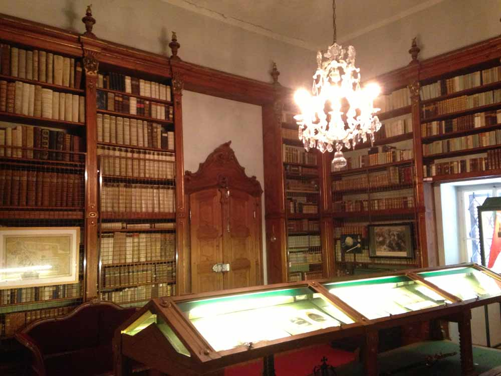 Bibliothek, Stift Mattsee