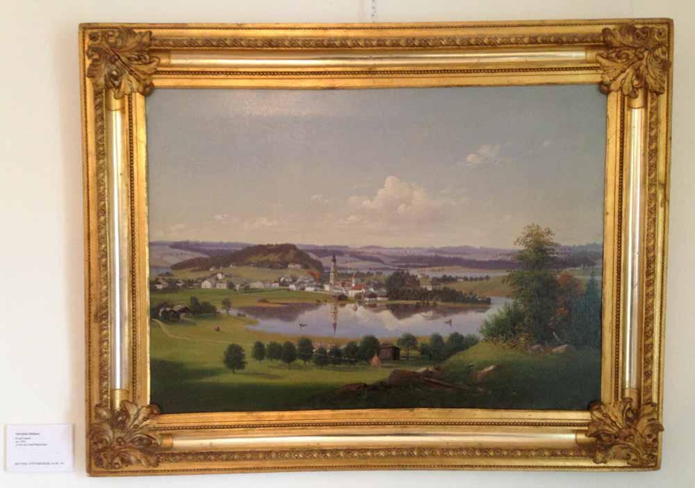 Mattsee um 1870