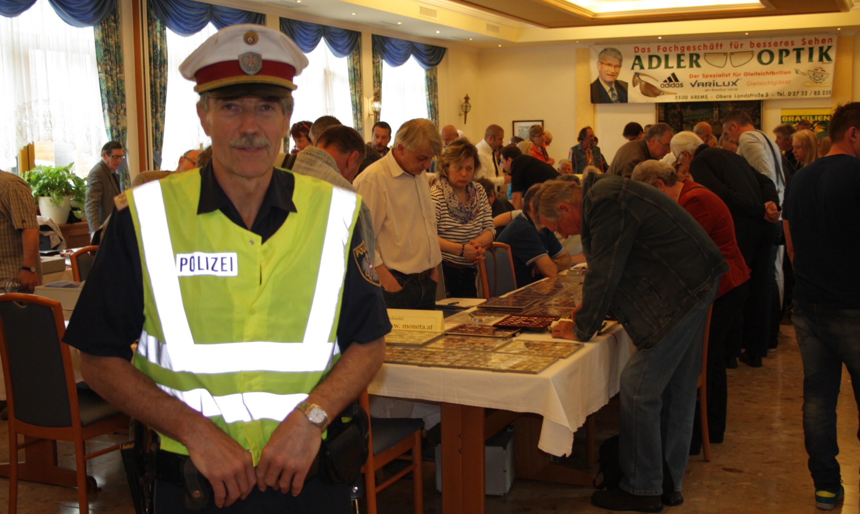 Münzbörse Spitz unter bewährtem Polizeischutz