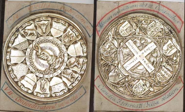 Patenpfennig der eidgenössischen Stände 1547