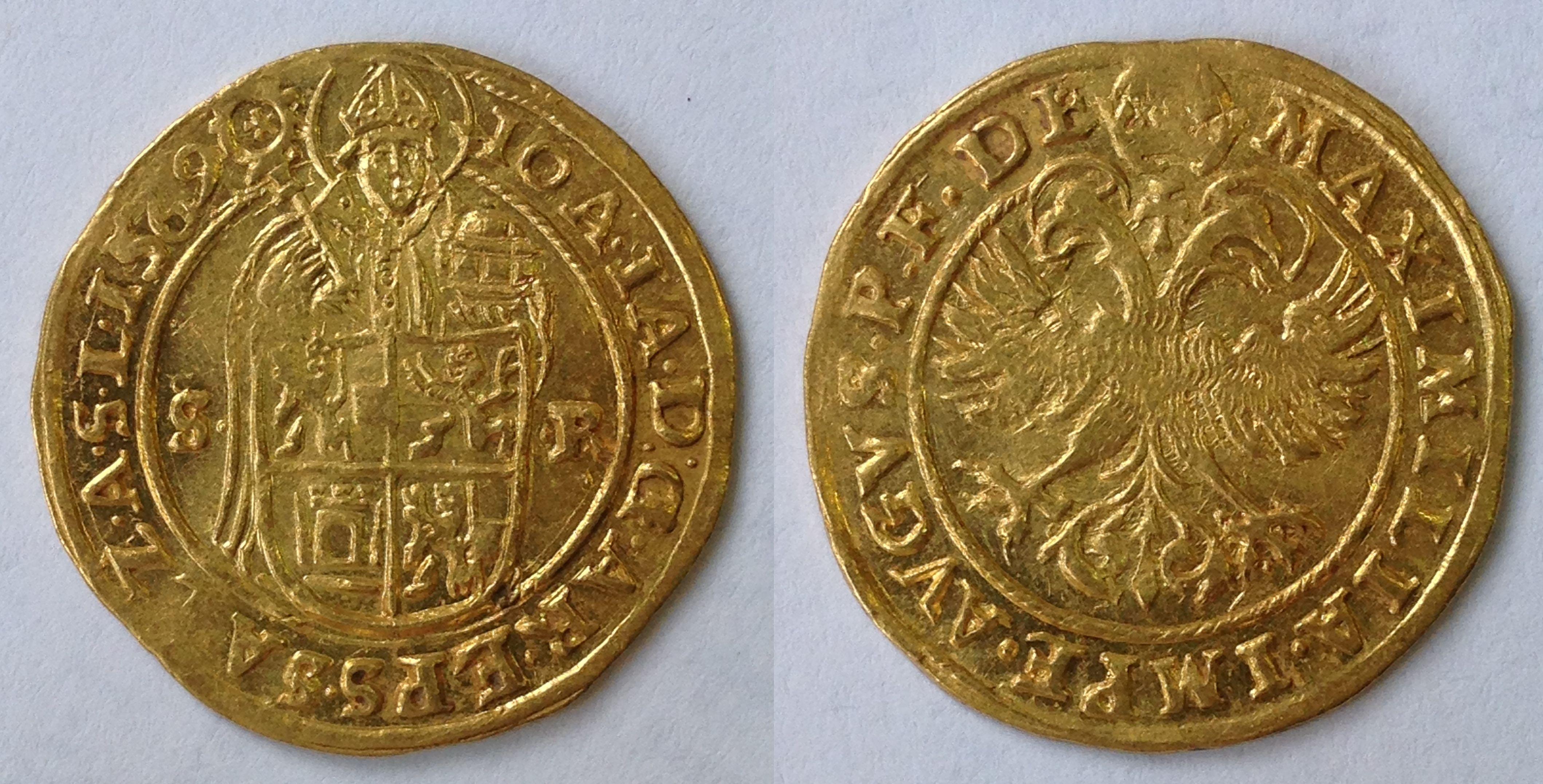 Doppeldukat 1569, Münzkabinett Prag