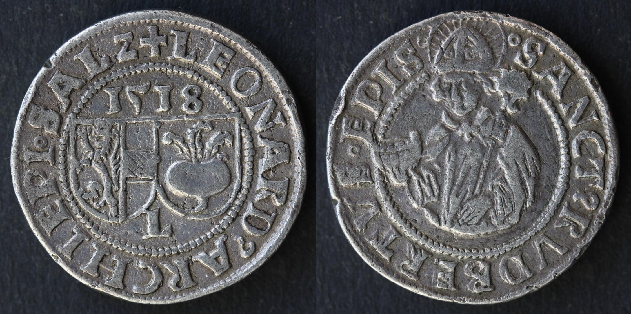 Dickabschlag des Batzens 1518