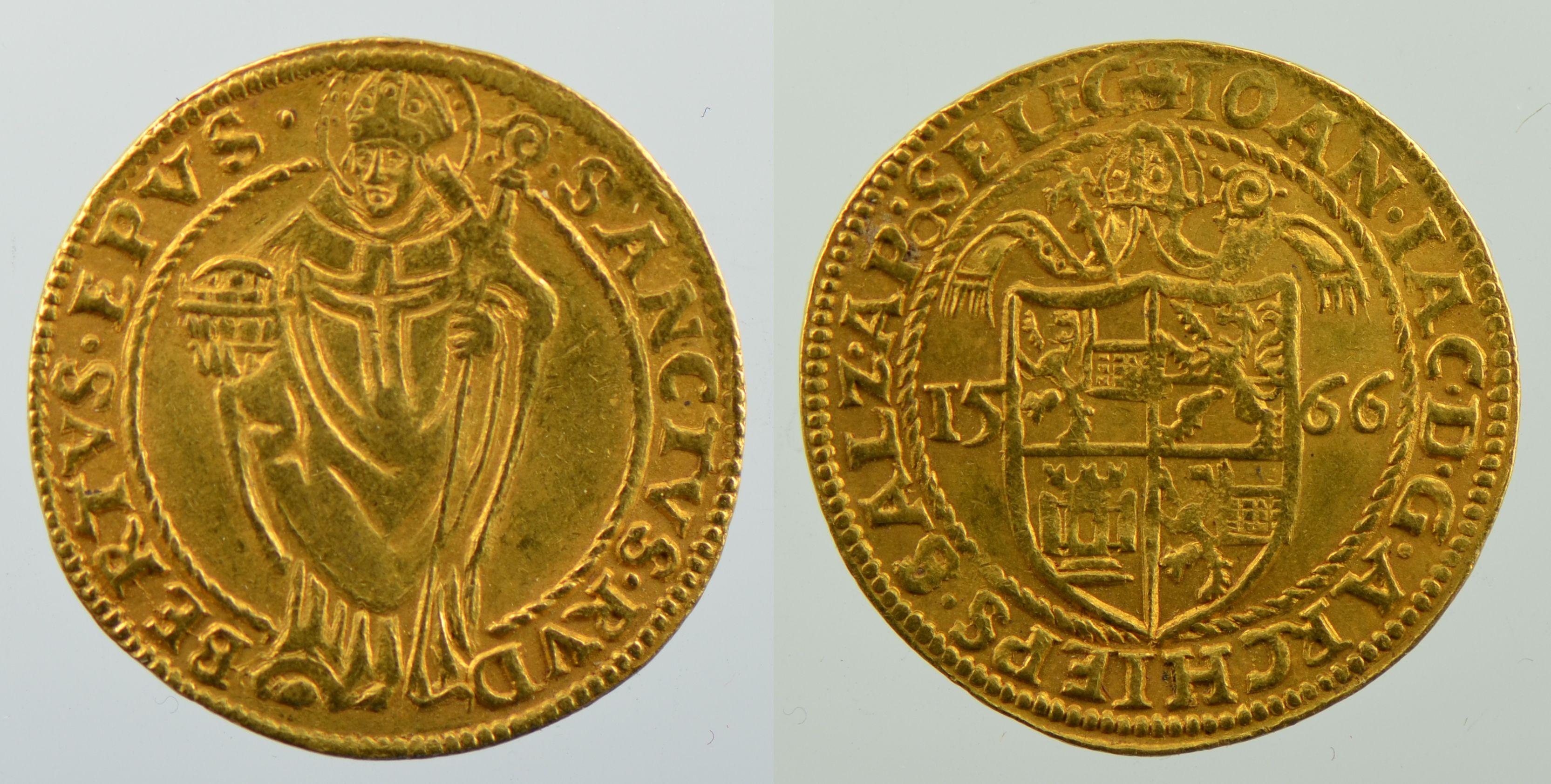 Doppeldukat 1566, Schweizer Nationalmuseum