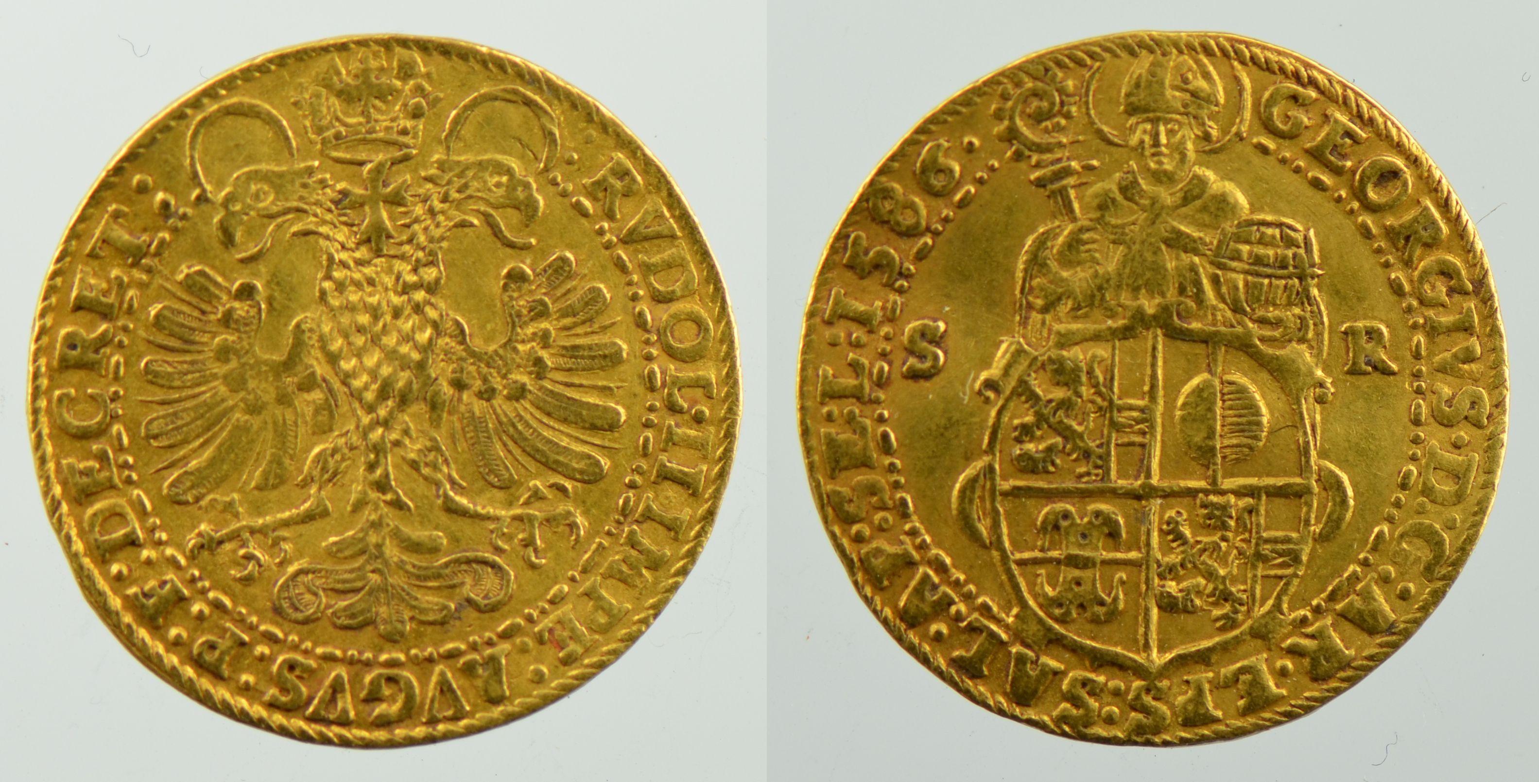 Doppeldukat 1586, Schweizer Nationalmuseum