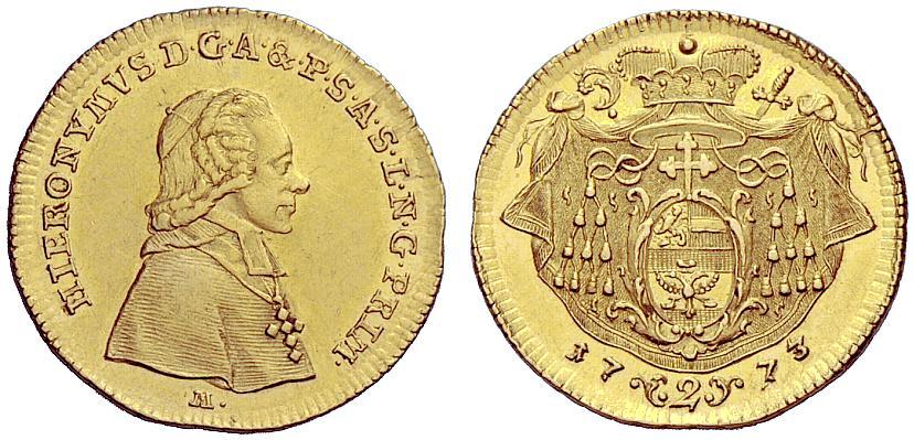 Colloredo, Doppeldukat 1773