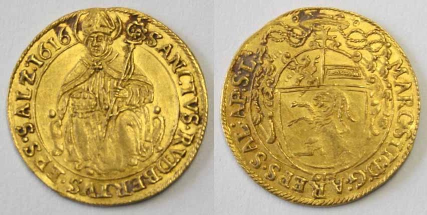 Markus Sitticus von Hohenems, Dukat 1616