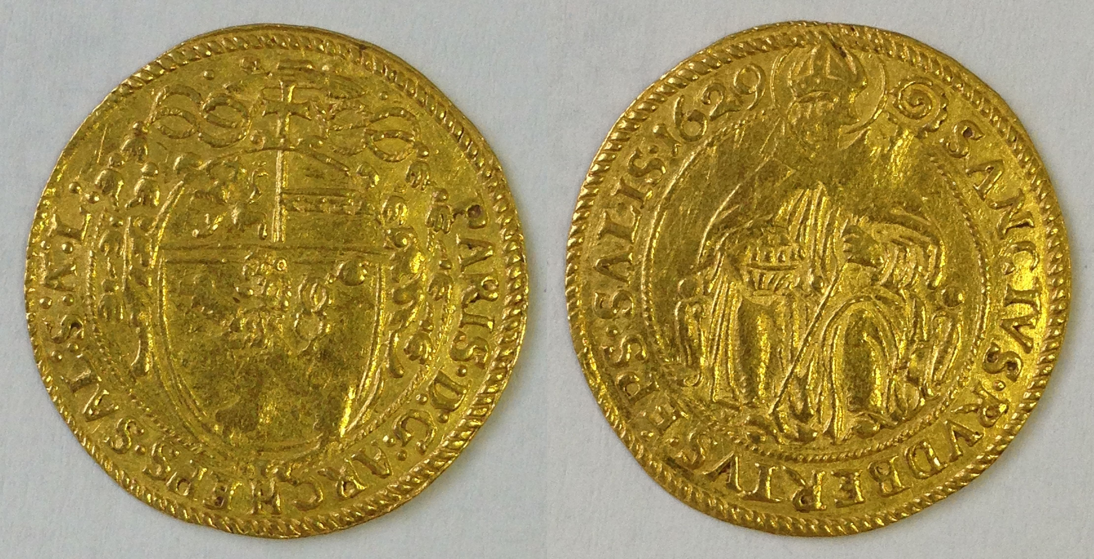 Dukat 1629, Münzkabinett Prag