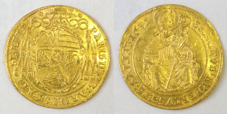 Dukat 1631, Münzkabinett Prag