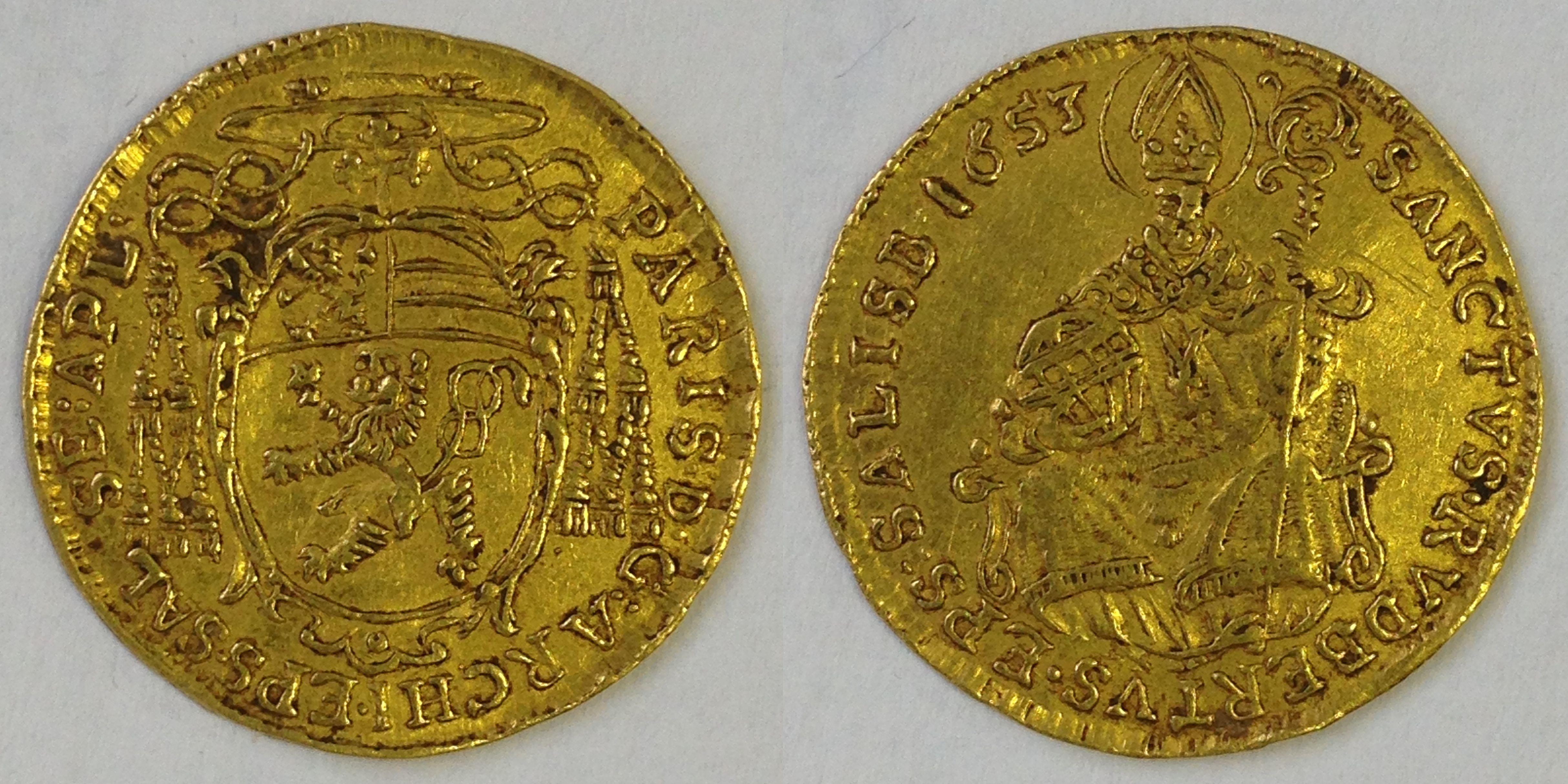 Dukat 1653, Münzkabinett Prag