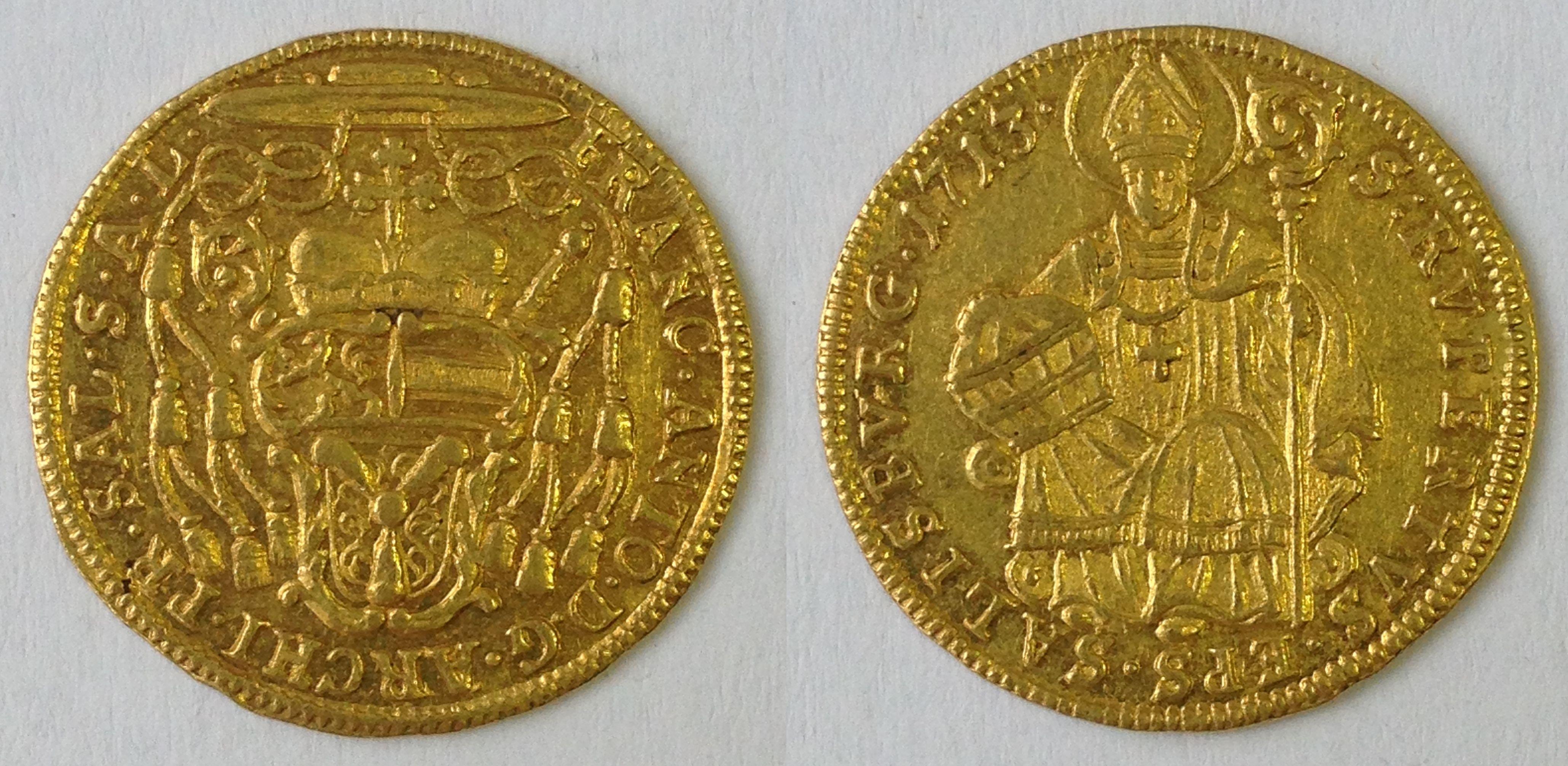 Dukat 1713, Münzkabinett Prag