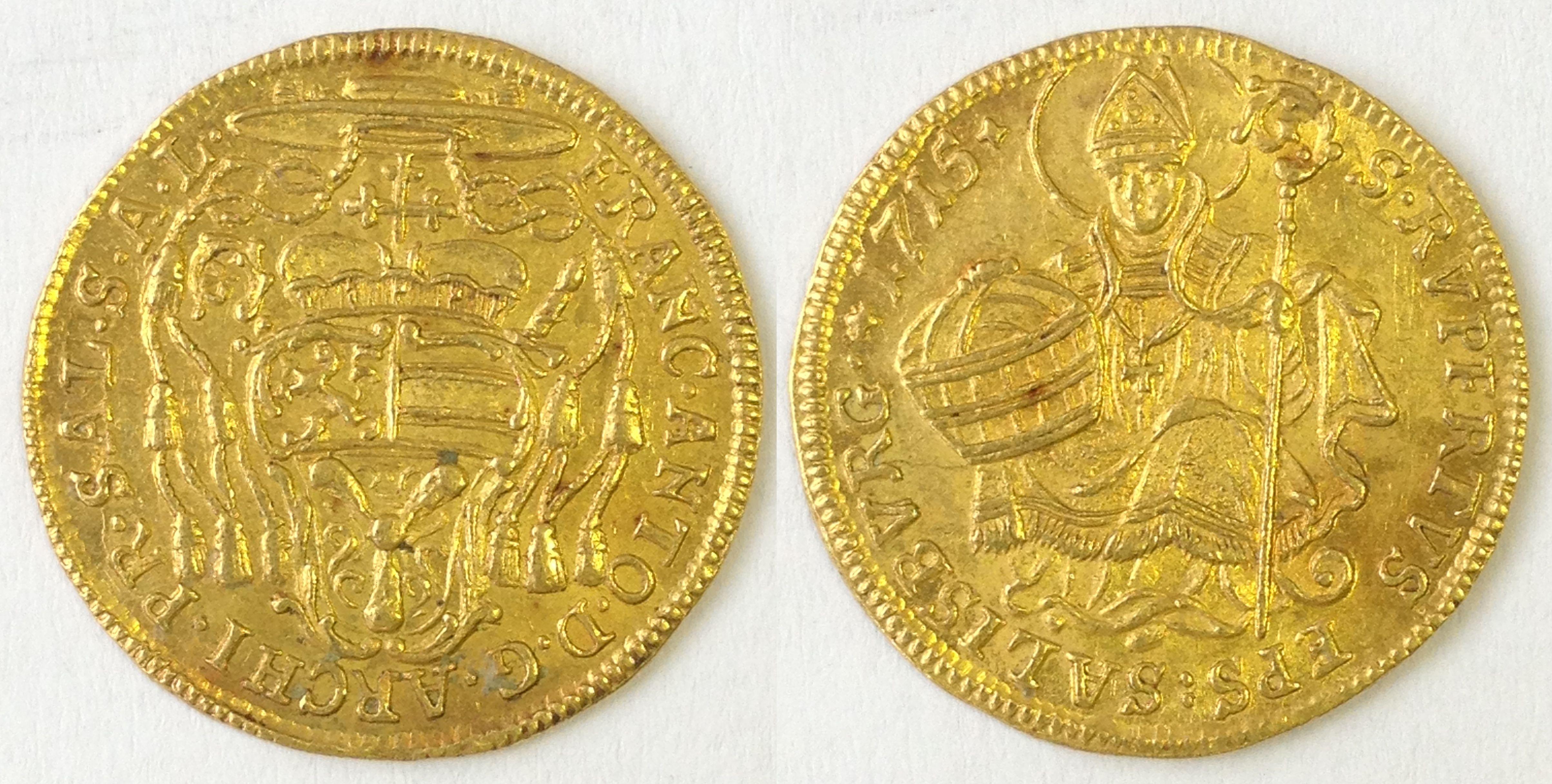 Dukat 1715, Münzkabinett Prag