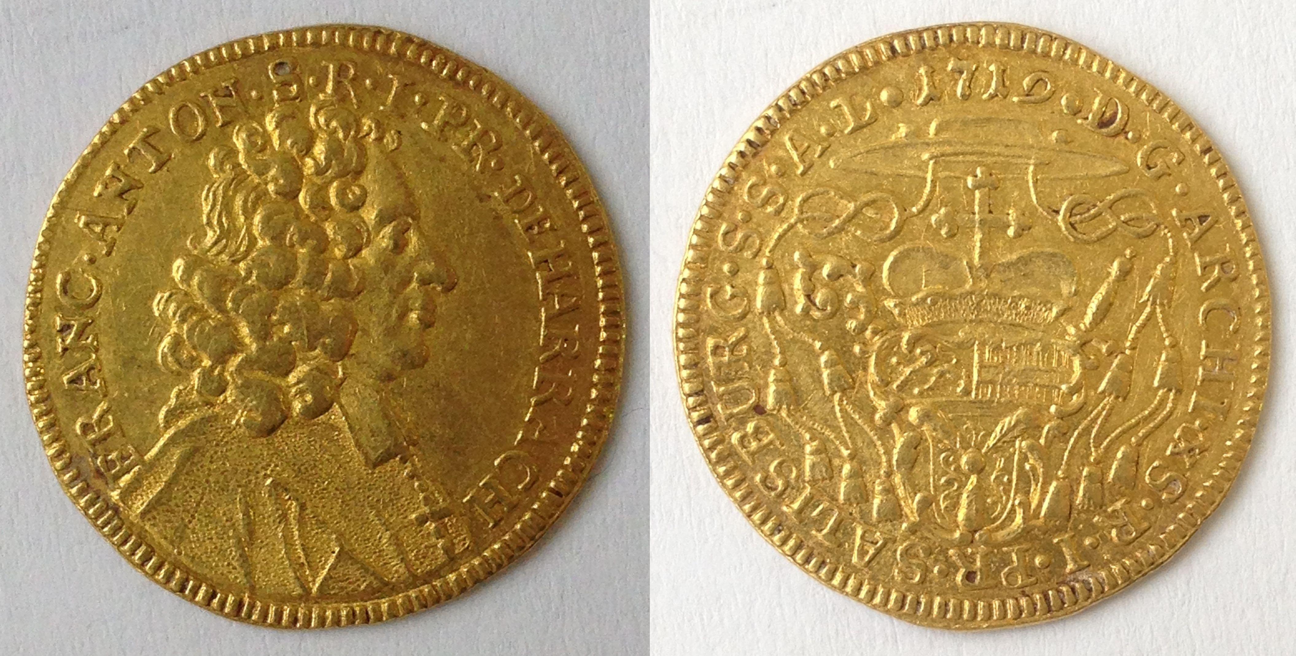 Dukat 1719, Münzkabinett Prag