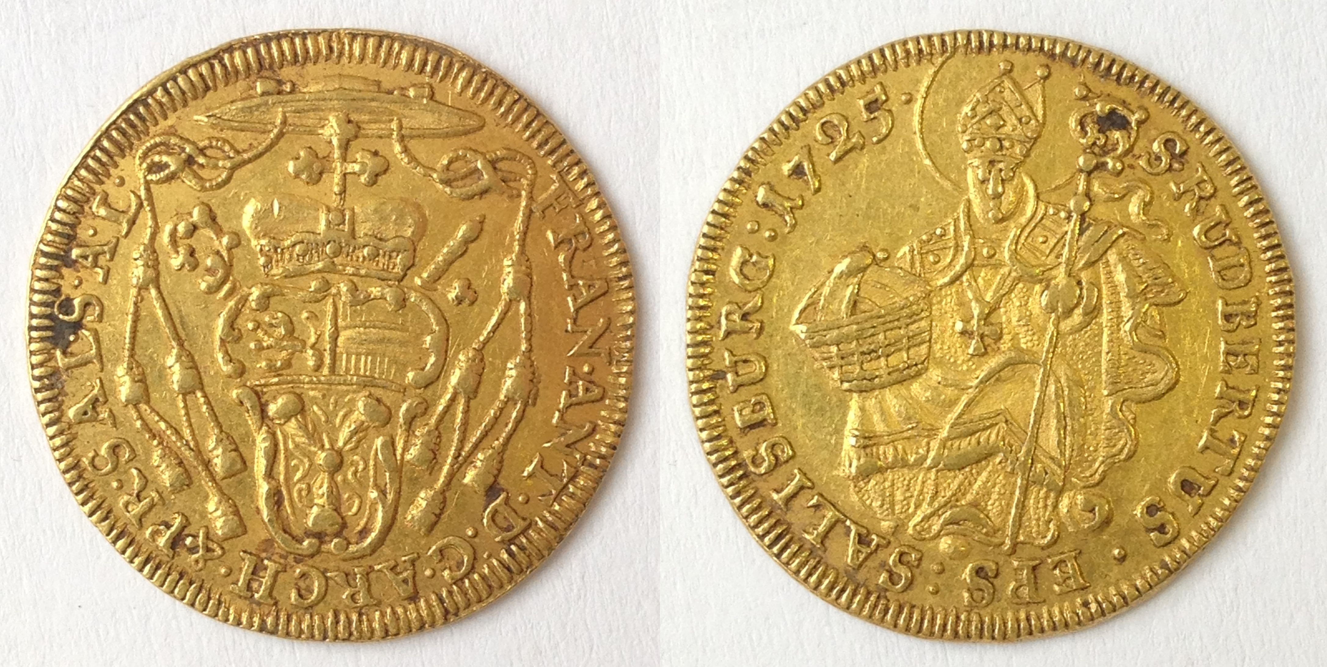 Dukat 1725, Münzkabinett Prag