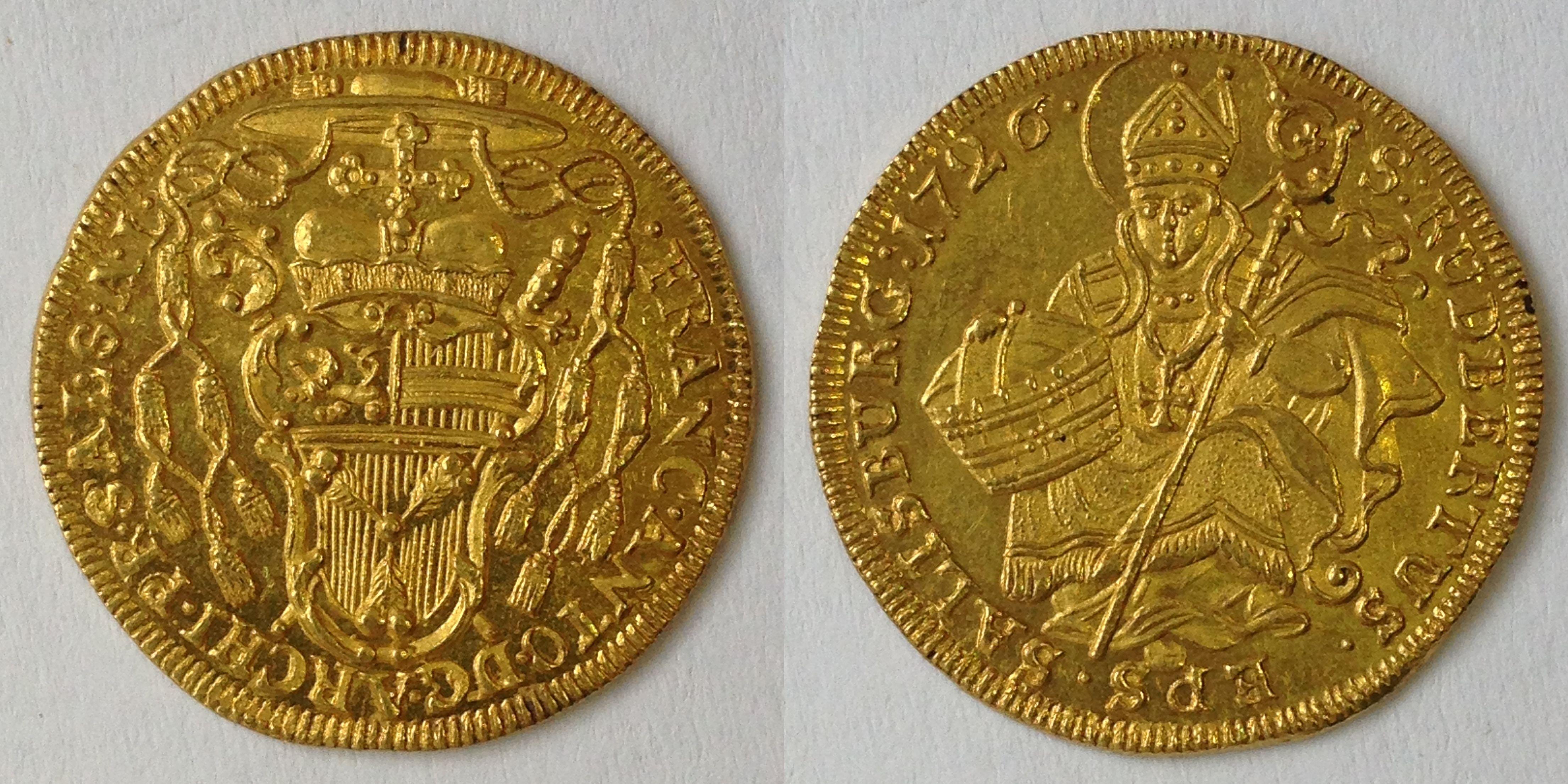 Dukat 1726, Münzkabinett Prag