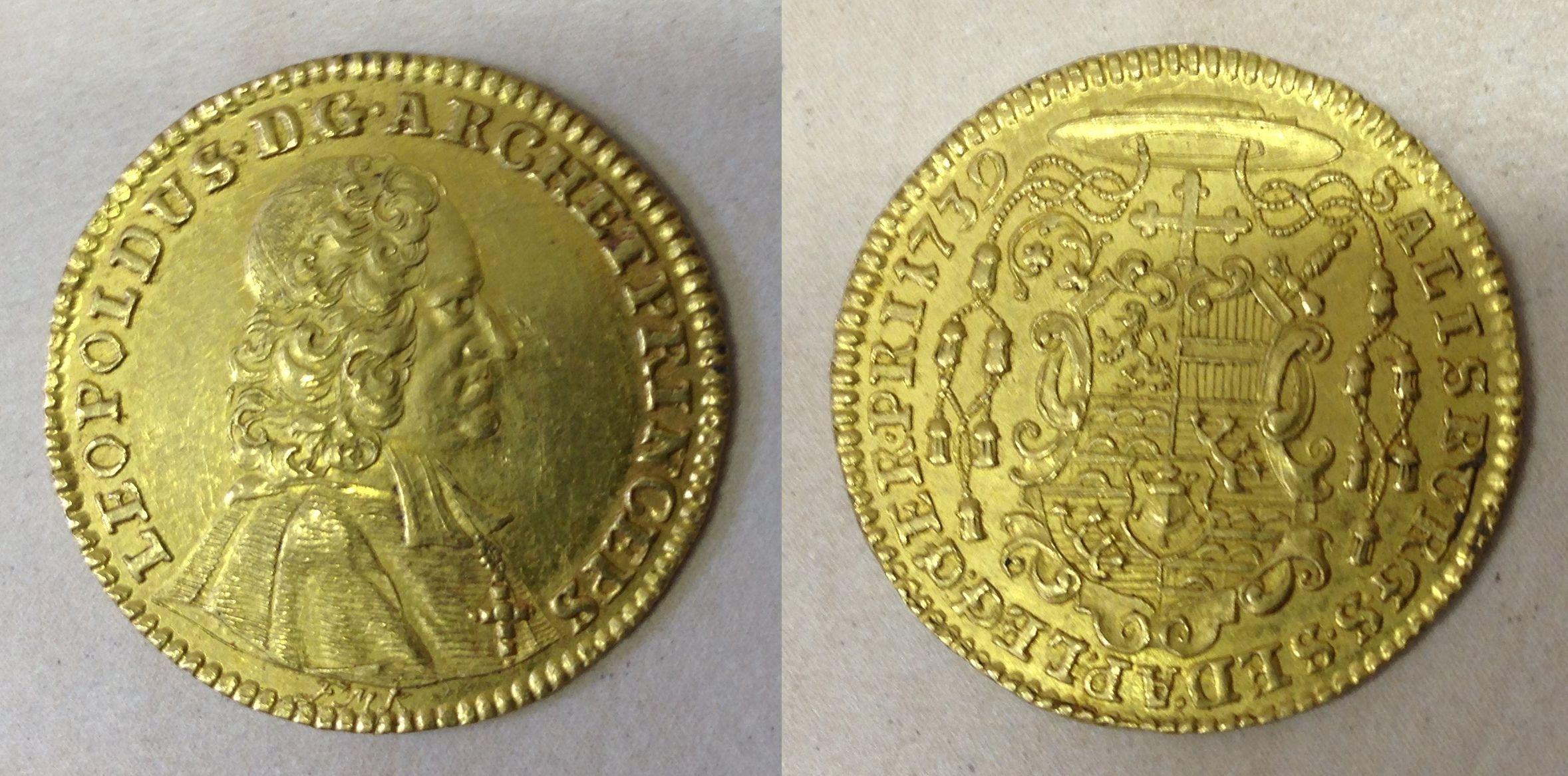 Dukat 1739, Münzkabinett Prag