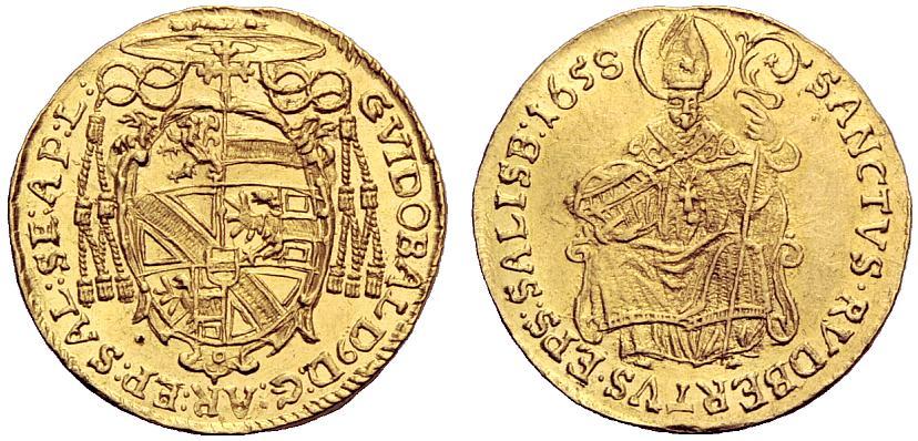 Dukat 1658 Guidobald Thun