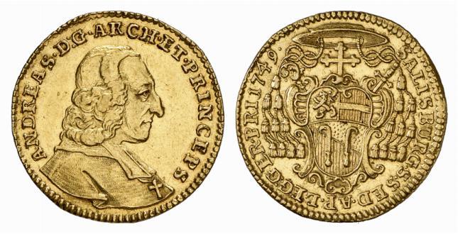 Andreas Jakob Dietrichstein, Dukat 1749