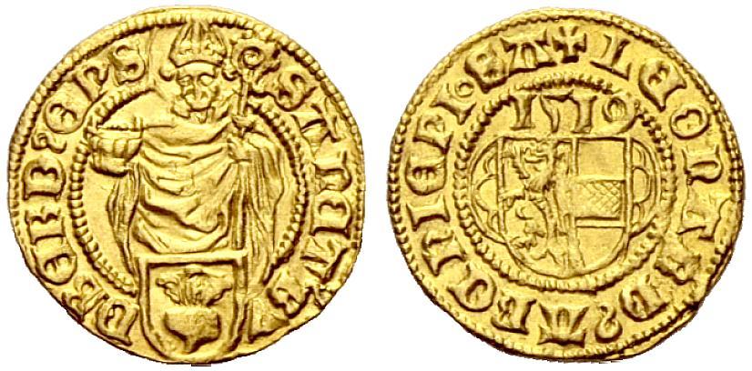 Dukat 1519 aus dem Fund von Kempten