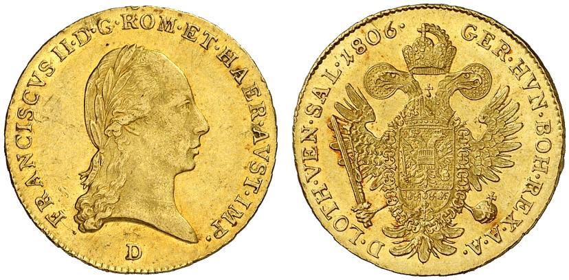 Dukat 1806 D Salzburg, Auktion Grün 53